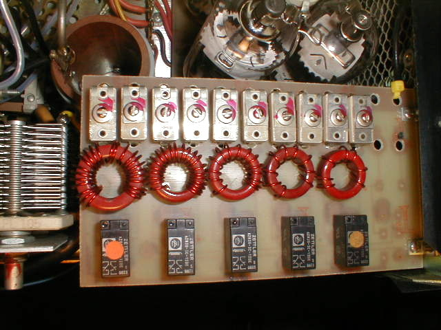 Amp Supply LA-1000 HF Amplifier Diagram